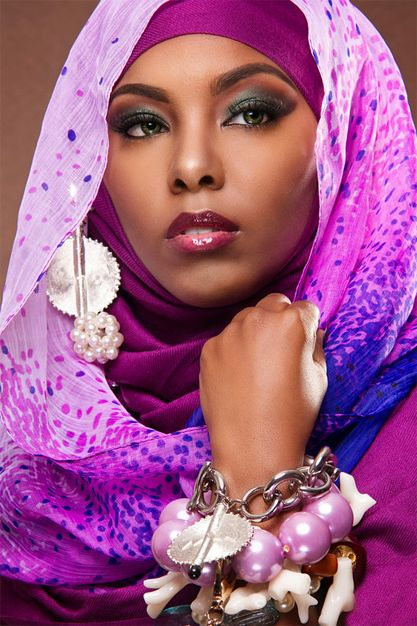 Where style starts: Check out these 10 fabulous images by American based photographer Charlton Hudnell featuring a gorgeous set of veils, head wraps, and head scarves
