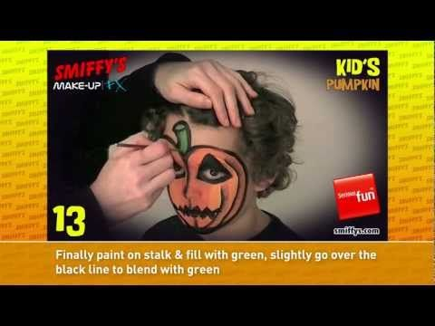 Zucca Halloween per bambini piccoli - VideoTrucco
