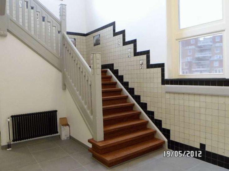 Escher vloertegels google zoeken mooie tegels voor bij de trap art deco pinterest - Deco hal originele badkamer ...