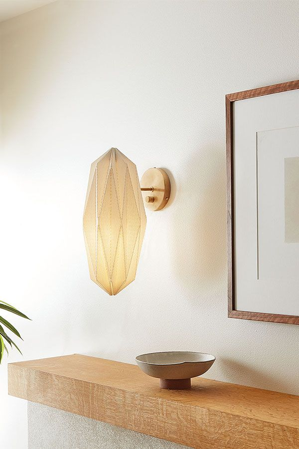 Orikata Wall Sconce Modern Wall Sconces Modern Lighting Room Board In 2021 Wall Sconces Living Room Wall Sconces Modern Wall Sconces