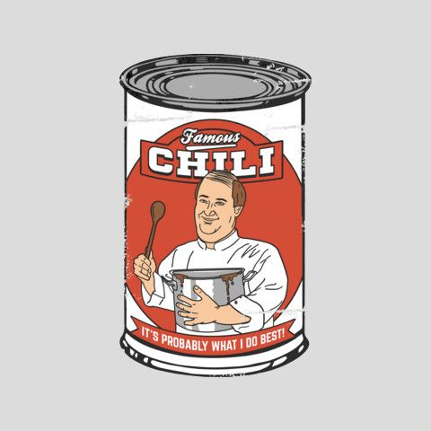 "Brian Baumgartner's ""Famous Chili"" Tee"