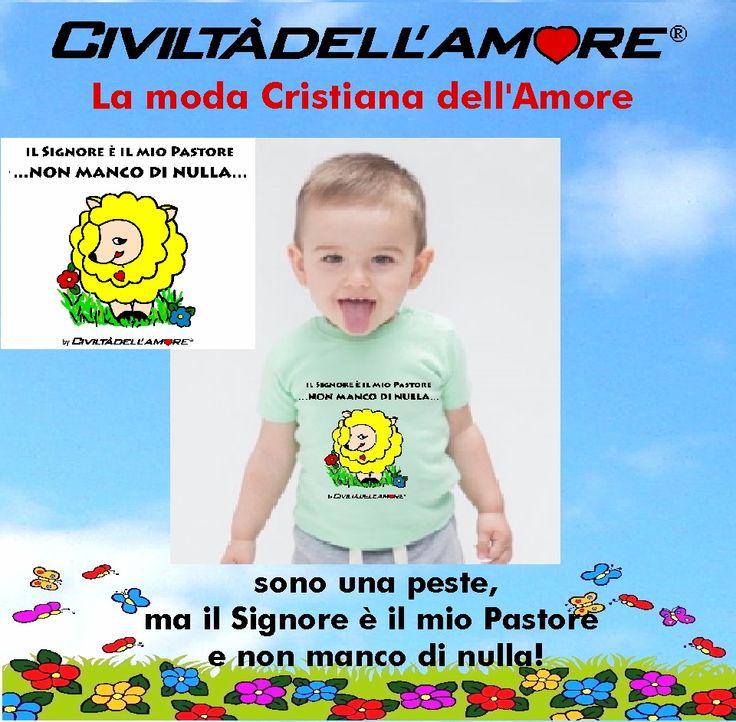 Vesti il tuo bambino con la moda dell'Amore!  Per questo modello segui la guida all'acquisto: http://www.civiltadellamore.net/guida-allacquisto/
