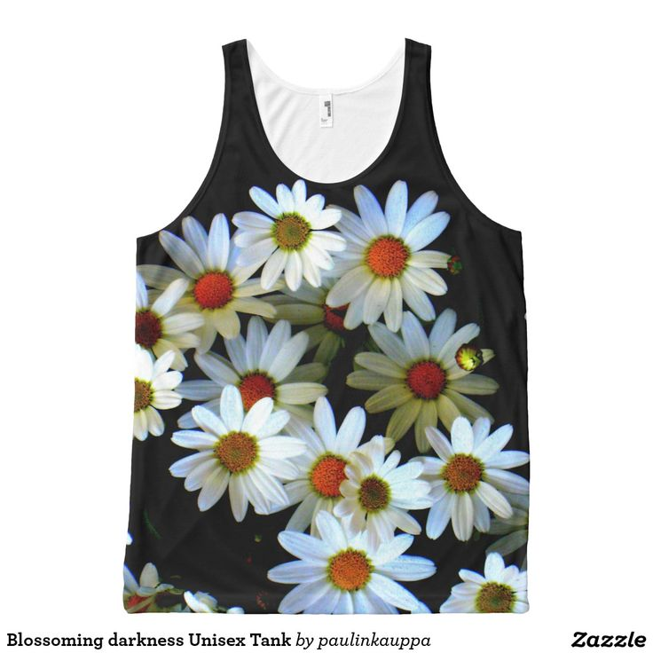 Blossoming darkness Unisex Tank All-Over Print Tank Top