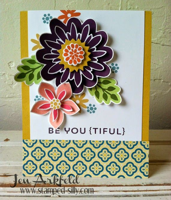 Stamped Silly: BE YOU (TIFUL) - Flower Patch - Stampin' Up!