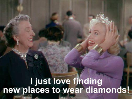 Gentlemen Prefer Blondes: Marilyn Monroe