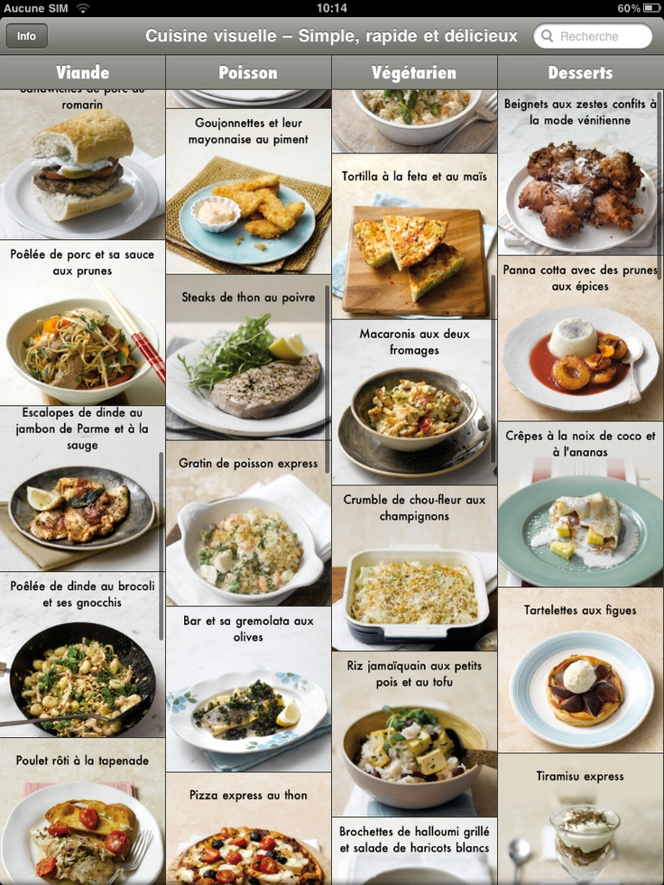 Best Applications Cuisine Listes De Courses Partage De - Appli cuisine