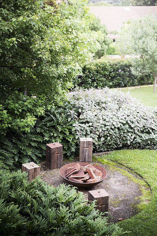 Angelina Fire Pit by Robert Plumb