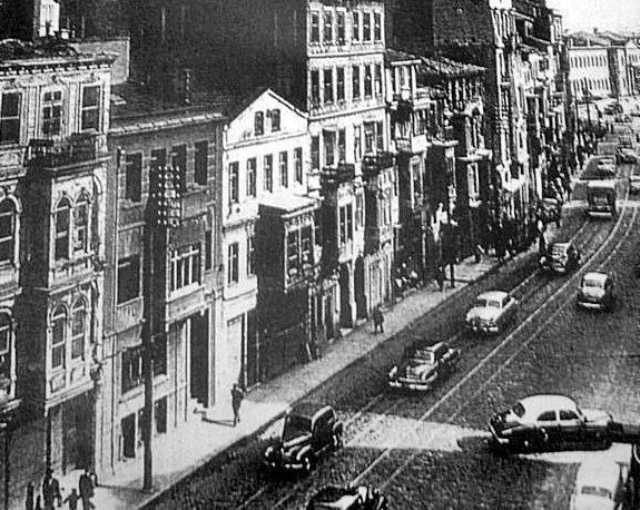 1958 yılında Şişli'nin en büyük ve en önemli caddesi, Halaskargazi, böyleydi: #ArşivDeşen