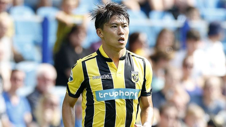 West Bromwich Albion sign China's Zhang Yuning from Vitesse Arnhem