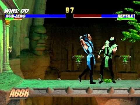 Mortal Kombat Trilogy PS Classic Sub Zero Relaunch Combo 2014 07 25 20 5...