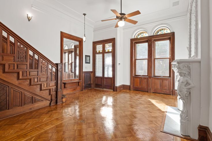 For $8.5M, a landmarked Upper West Side townhouse designed by Rafael Guastavino - Curbed NY
