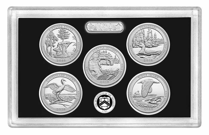 2018 United States Mint America the Beautiful Quarters Silver Proof Set Available on February 22 - Coin Community Forum