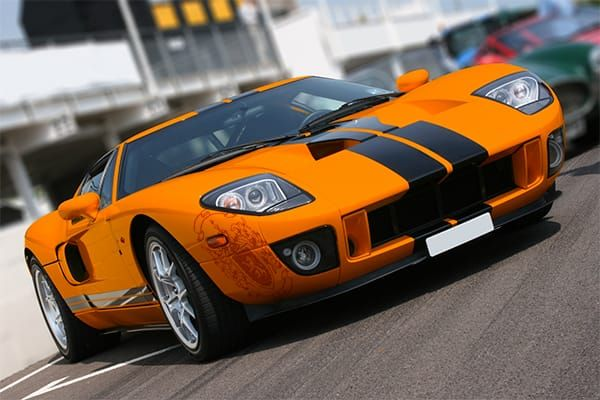 Orange Ford Gt Ford Truck Models Ford Gt Ford Classic Cars
