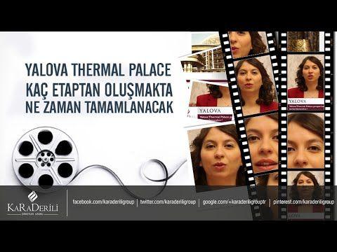 Yalova Thermal Palace Kaç Etaptan Oluşmakta Ne Zaman Tamamlanacak