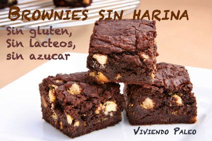 Receta paleo: Brownies de cacao - Dieta Paleo