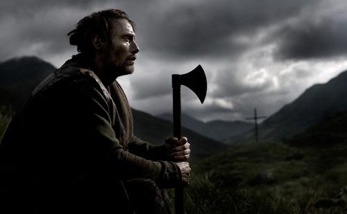 axe: Awesome Movie, Amazing Movie, Rise 2009, Wind Refn, Mad Mikkelsen, Admin Mikkelsen, Nicolas Wind, Nor Valhalla, Valhalla Rise