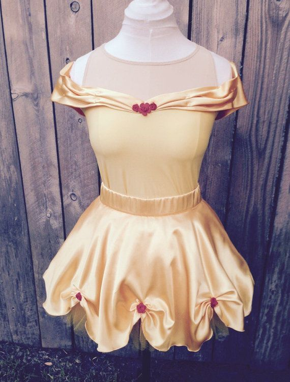 Be Our Guest Disney Running Costume with Sleeves by runthekingdom