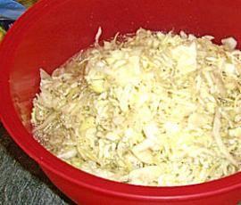 Rezept Variation von Variation von Krautsalat wie beim Griechen von haasi1962 - Rezept der Kategorie Vorspeisen/Salate