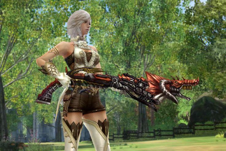 JGE Exclusive Weapons: The Draconic series (AR32) - Granado Espada Official Forum