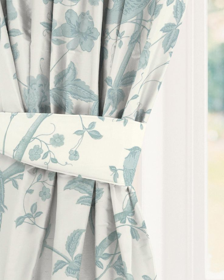 Bedroom Decorating Ideas Wallpaper Victorian Wallpaper Bedroom Bedroom Window Blinds Ideas Bedroom Colour Green: Made To Measure Curtains In Summer Palace Off White/ Duck