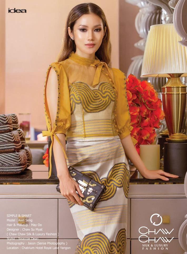 Awn Seng, Acheik, modern top, designer fashion