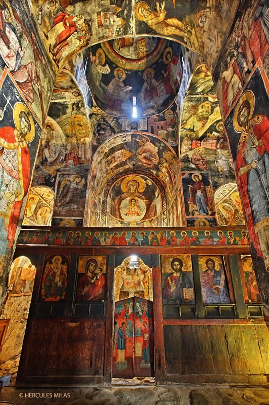 This is my Greece | The byzantine church of Agios Germanos (11th century), Agios Germanos village, Prespes, Florina, Macedonia