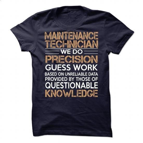 Maintenance Technician - #mens casual shirts #college sweatshirt. PURCHASE NOW => https://www.sunfrog.com/LifeStyle/Maintenance-Technician-85374048-Guys.html?60505