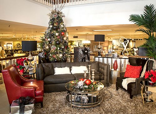Holiday/Christmas Decorating By Star Furniture Store Interior Designer  Christine Thayer (https:/