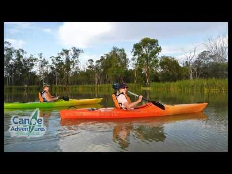Guided Sunset Kayak Tours with Canoe Adventures - Riverland SA, are a relaxing way to enjoy a sunset.  Bookings - 04211 676 45