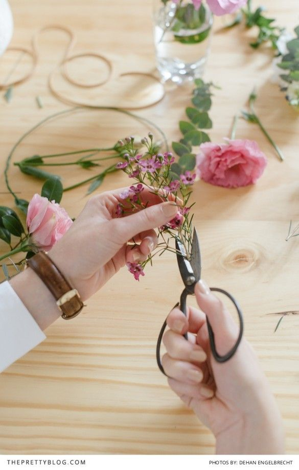 Make Your Own Boho Wreath! by White Kite Studio | Photograph by Dehan Engelbrecht