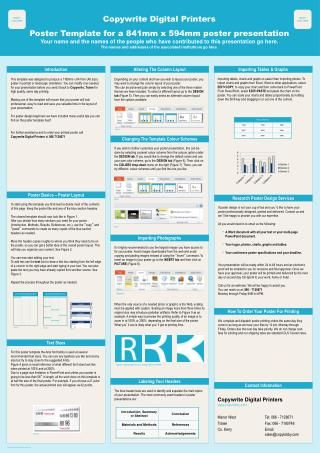 7 best Great Research Poster Design Resources images on Pinterest - research poster