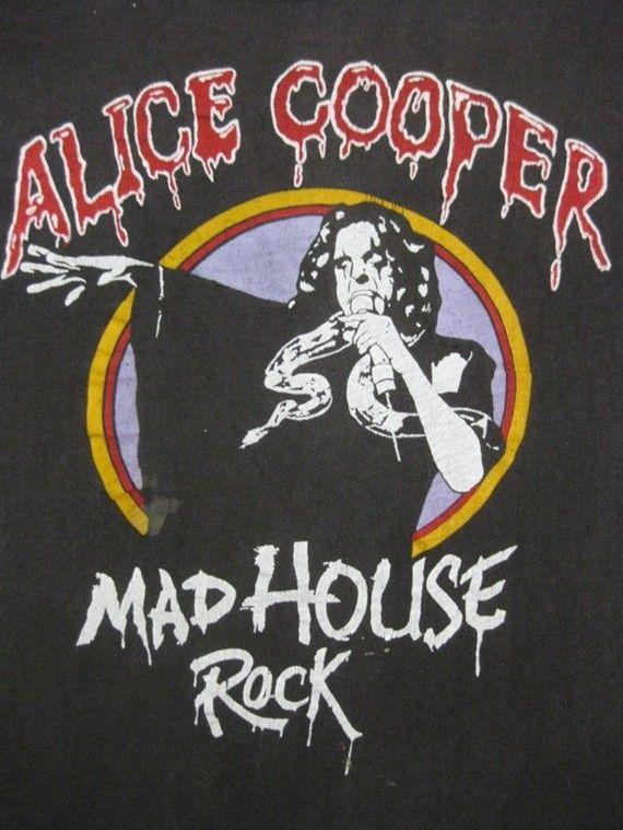 Alice Cooper 79 Tour. Omg, I had this shirt!