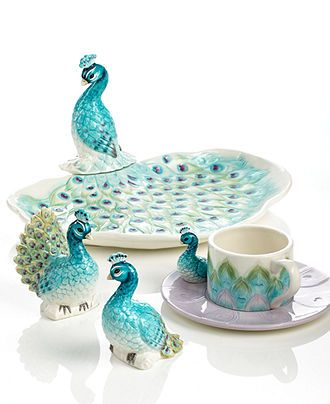 Edie Rose by Rachel Bilson Dinnerware, Peacock New Items Collection - Casual Dinnerware - Dining & Entertaining - Macy's
