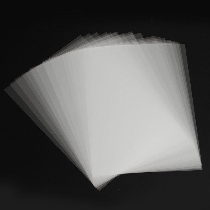 20Pcs A4 de inyección de tinta de pantalla de la película de impresión de papel Transparente PCB Stencil Imprimir