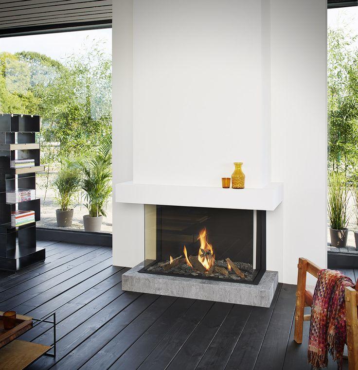 TULP B-fire 100 hoog 3-zijdig - Product in beeld - - Startpagina voor sfeerverwarmnings ideeën   UW-haard.nl