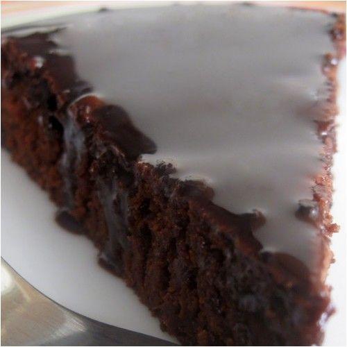 Μελαχρινή με γλάσο σοκολάτας !!! ~ ΜΑΓΕΙΡΙΚΗ ΚΑΙ ΣΥΝΤΑΓΕΣ