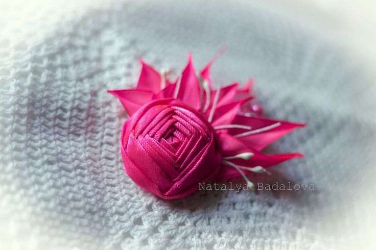A personal favourite from my Etsy shop https://www.etsy.com/ie/listing/560347075/hot-pink-rose-kanzashi-brooch