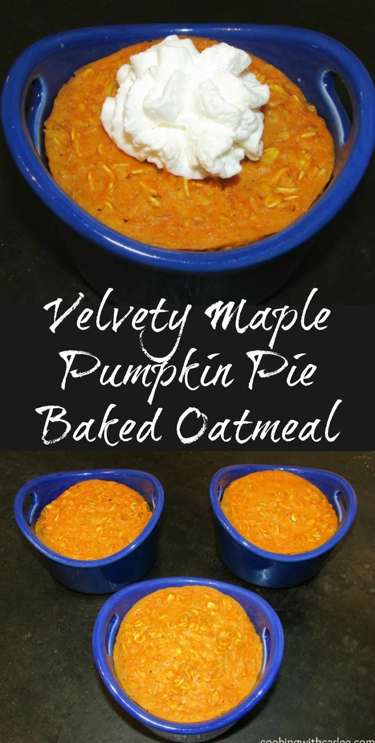 This pumpkin pie oatmeal is hearty, delicious and nutritious! It is a great fall breakfast. It is soft and luscious and oh so good!