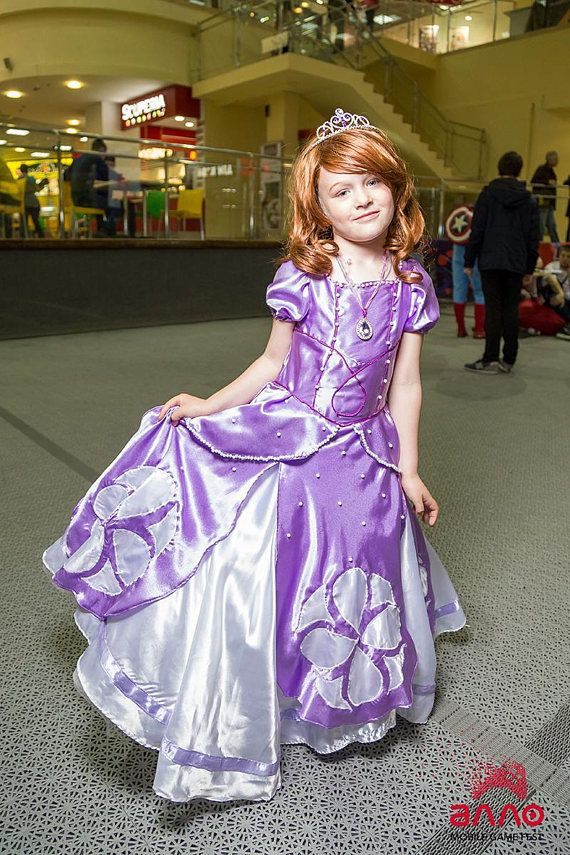 Sofia the First Dress. Sofia Costume. Sofia Dress.