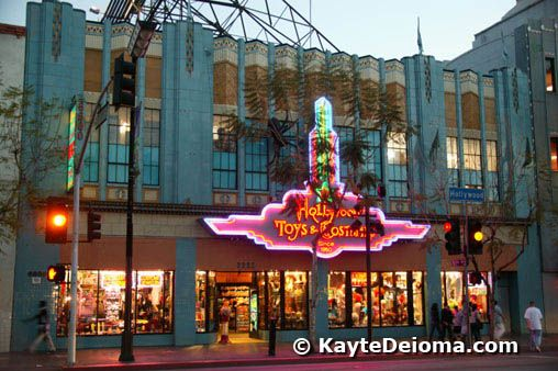 Hollywood Photo Tour: Hollywood Toys and Costumes