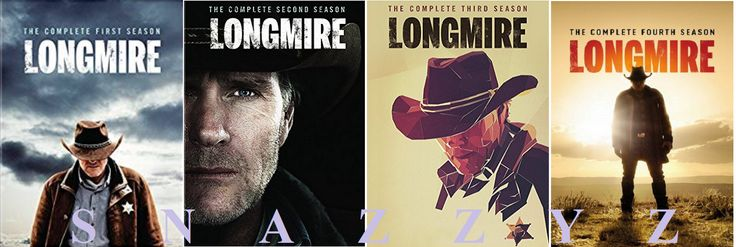 cds dvds vhs: New And Sealed! Tv Longmire Complete Seasons 1 - 4 Dvd -> BUY IT NOW ONLY: $129.95 on eBay!
