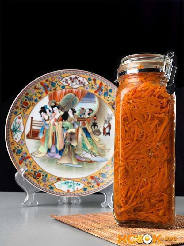 настоящая морковча по-корейски получается очень вкусной и ароматной