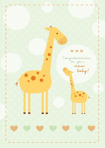 26 best baby shower e invitations images on pinterest shower ideas giraffe baby designed by nina seven on pingg filmwisefo Image collections