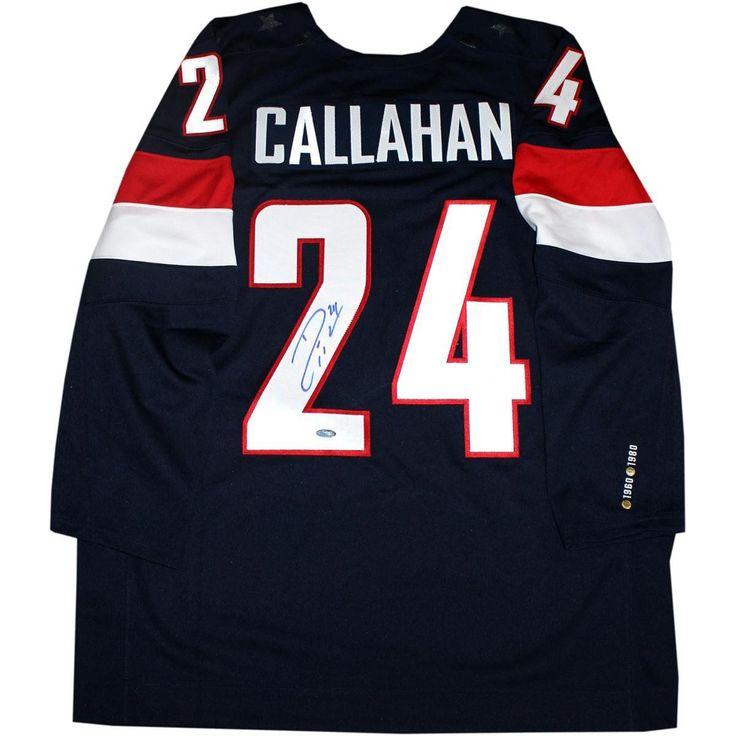 Ryan Callahan Signed 2014 USA Olympic Hockey Jersey