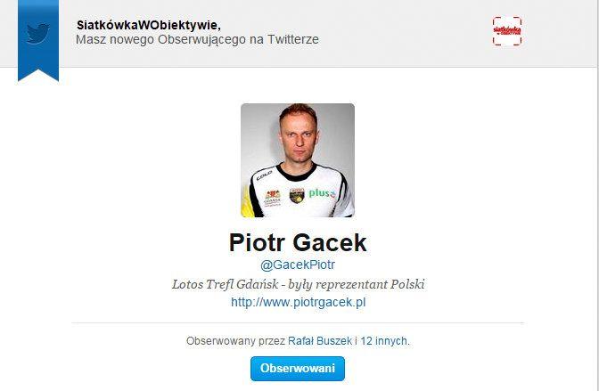 #PiotrGacek
