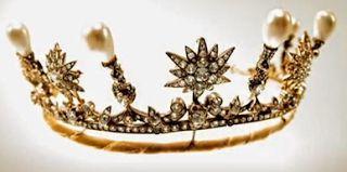 Königliche Juwelen: Königin Sophie Sternen und Perlen Tiara
