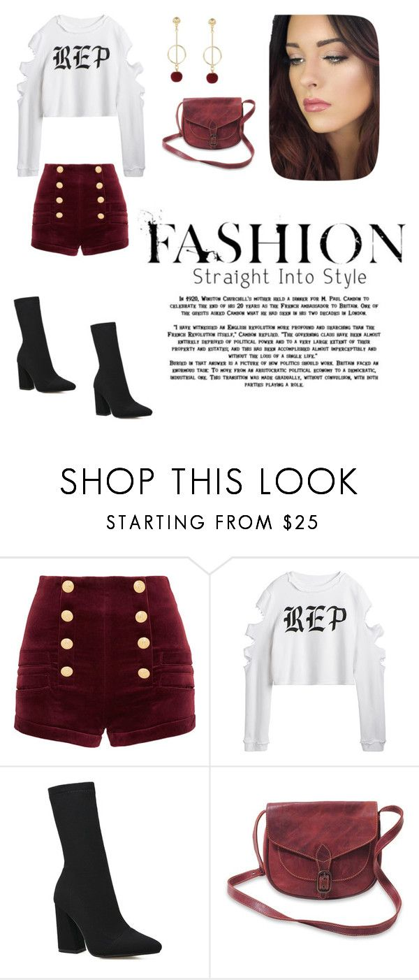 """""""Reputation"""" by skylarmuffin on Polyvore featuring Pierre Balmain"""
