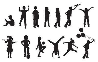 13 vectors of children in EPS Format. You can use this pack in any personal or commercial project. Enjoy!!