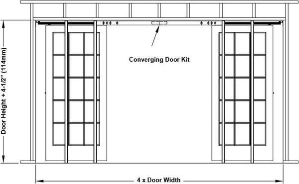 Pocket Door Frame Kits Pocket Doors Pocket Door Frame Double
