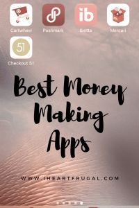 Seven Best Money Making Phone Apps - Earn More Monthly - Iheartfrugal